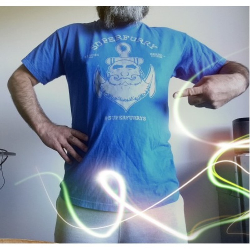 SUPERFURRY T-SHIRT ROYAL BLUE