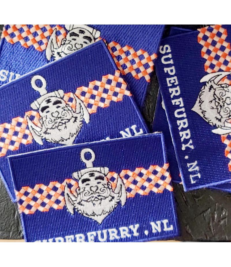 Stitch on Badge Superfurry