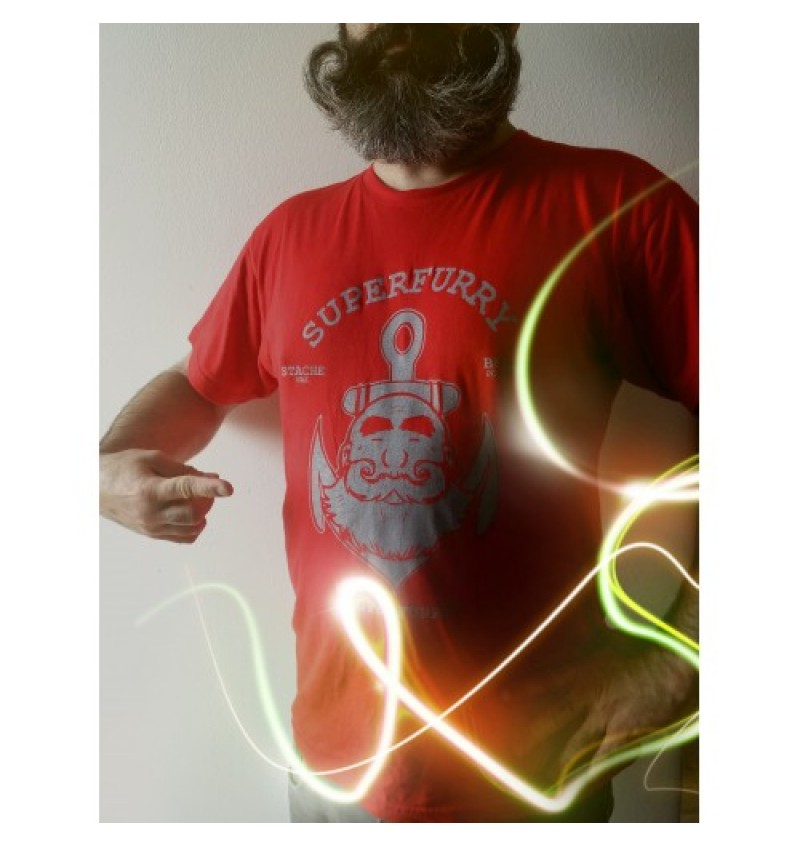 SUPERFURRY T-SHIRT RED