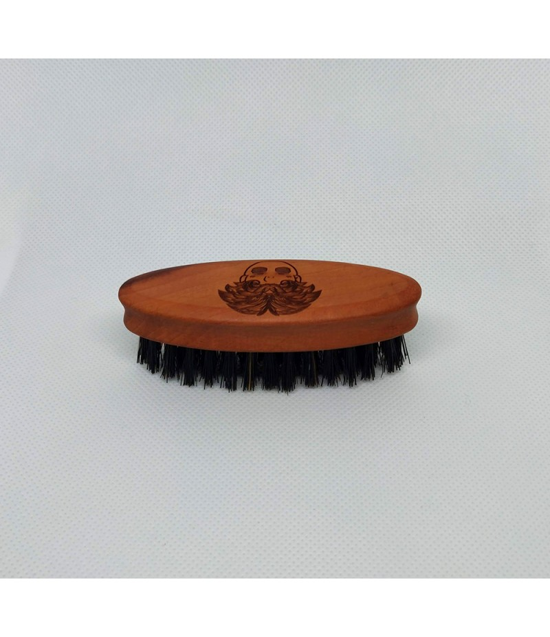 PEAR WOOD MOUSTACHE BRUSH