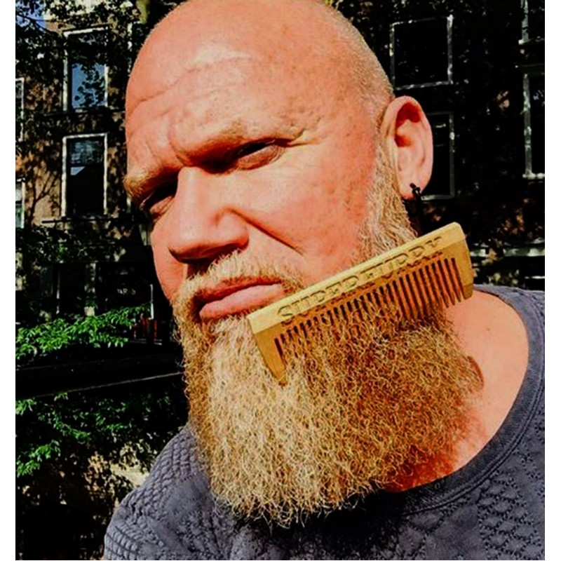 BEECH WOOD BEARD COMB