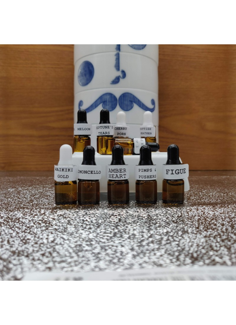 FURRYDANDY BEARD OIL SAMPLER SET