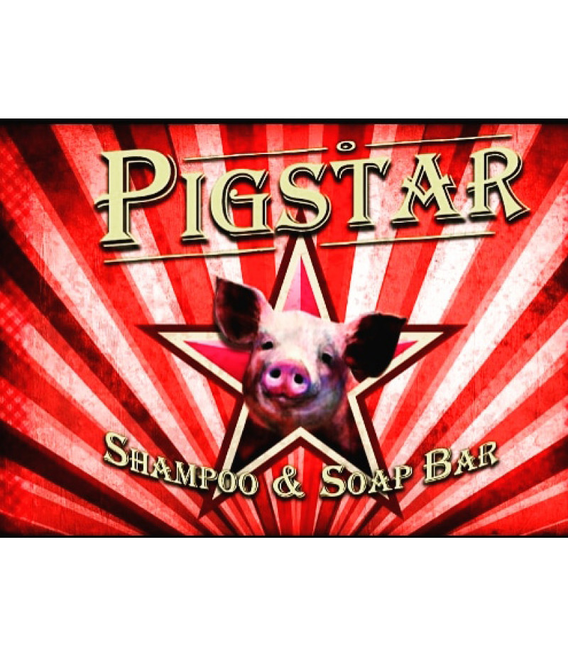 PIGSTAR SHAMPOO & SOAP BAR